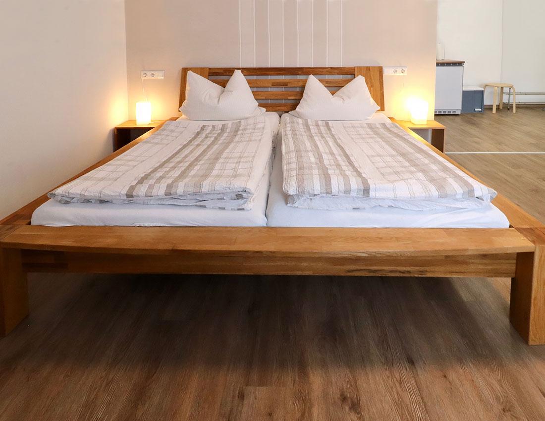 Ferienwohnungen Schlafzimmer